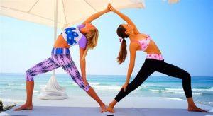 posturas de yoga de dos
