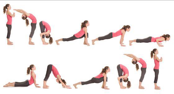 Yoga posiciones